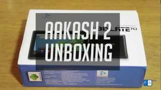 Aakash 2 Tablet Unboxing