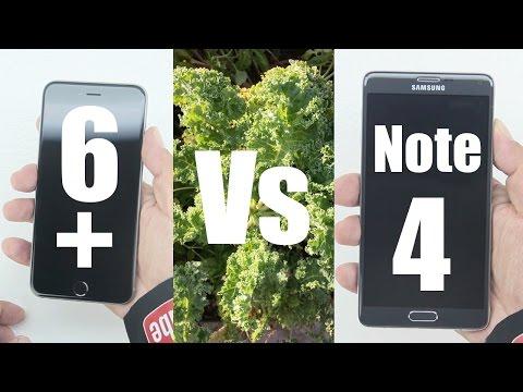 Apple iPhone 6 Plus Vs Samsung Galaxy Note 4 [Video & Still Image Quality]
