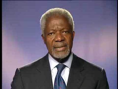 Kofi Annan's Message to Books For Africa