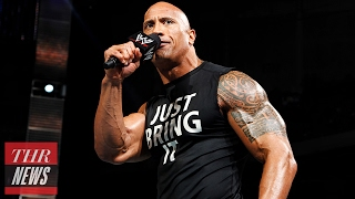 Eclusive: Dwayne Johnson Gets in the Ring for