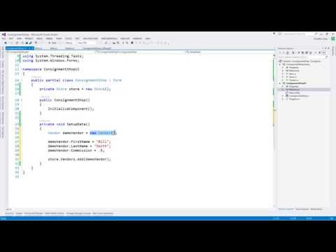 Creating a C# Application: From idea to finished product