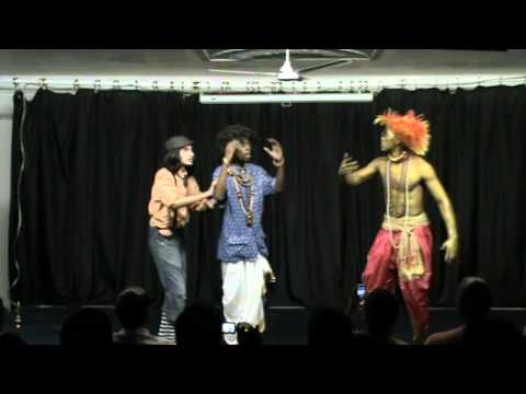 ISKCON Botswana: The King & the Genie Drama 2011