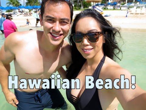 Beautiful Hawaiian Beach! - August 23, 2014 - itsJudysLife Daily Vlog