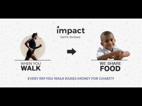 Impact - Fitness + Charity. Walk - Jog - Run APK Cover
