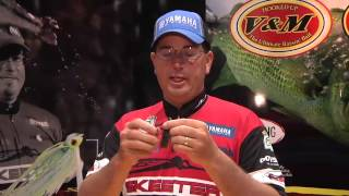 V&M Adrenaline Flippin Jig with Cliff Pace   ICAST 2013