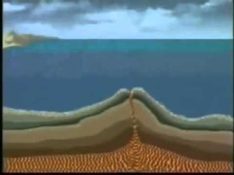 proses gunung meletus