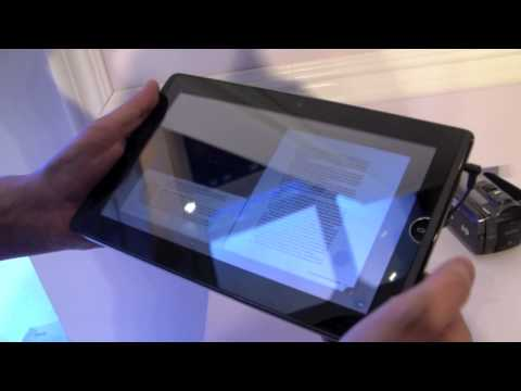 "ASUS Eee Pad EP101TC 10"" Tablet Hands On"