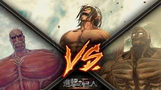 Attack on Titan / Eren Vs Armored Titan & Colossal Titan Gameplay - Final Mission