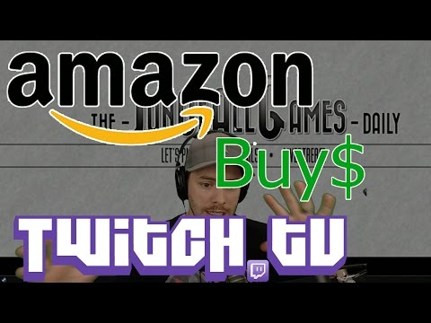 Amazon Buys Twitch.tv - Channel Update - JonOfAllNews
