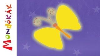 Aranyszárnyú pillangó (mondóka, rajzfilm gyerekeknek)
