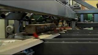 Wooden board production line - full technological process