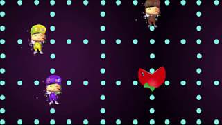 Learn Colors PACMAN with PePee - Nursery rhyme and funny Songs for Kids