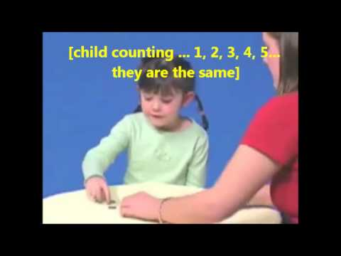 piagets conservation of number and liquid tasks Piagetian tasks as readiness measures in mathematics instruction: a  number conservation,  grade children on liquid conservation and measurement .