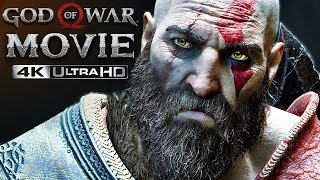 God of War 4 | 4K Movie, ULTIMATE CUT (All Cutscenes, Story & Bosses) (GoW 2018)