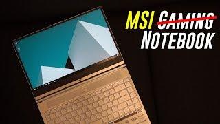 Nice Try! - MSI Prestige PS42 (MX 150)