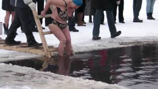 Russian Women Are Tough Winter Swimmers