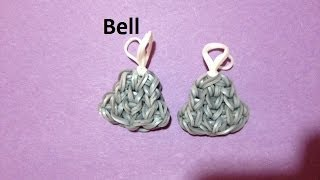 How to Make a Bell Charm on the Rainbow Loom - Original Design