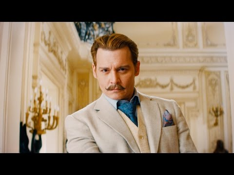 Mortdecai Teaser Trailer Official - Johnny Depp