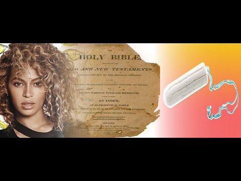 BEYONCE BLASPHEME CHAPITRE DE LA BIBLE COMME TAMPON HYGENIQUE HOLD UP CLIP SATANIQUE ?!?!