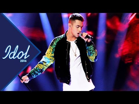 Liam Cacatian Thomassen - When I was your man | Idol Sverige 2016 (TV4)