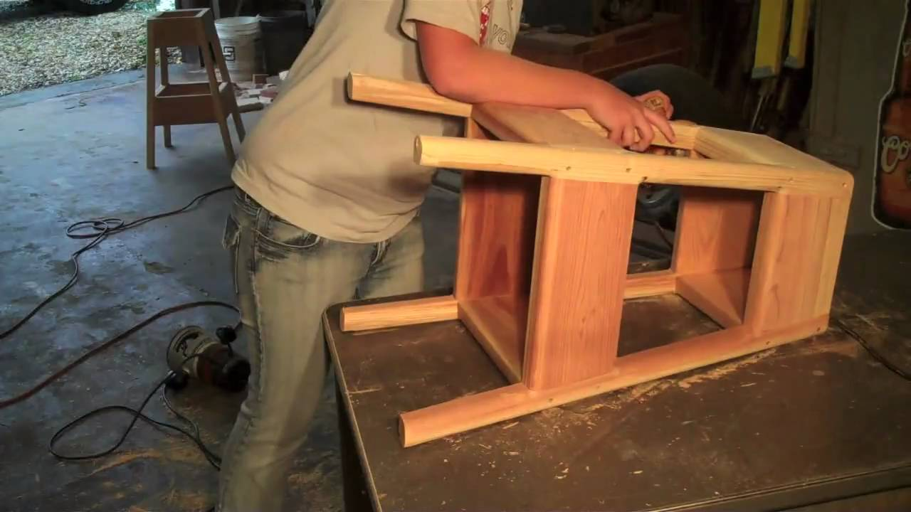 How To Make A Stool Youtube
