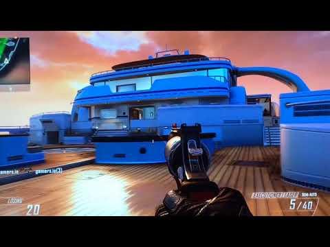 COD Black Ops 2 Gun Game Gameplay Tristen v.s. Isma /Comic Boy's