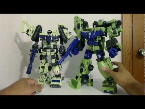 Transformers Review #9: MakeToys Giant Type-61 AKA Green Giant Giftset