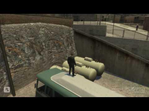 GTA 4 Swing Set Glitch & Stunts