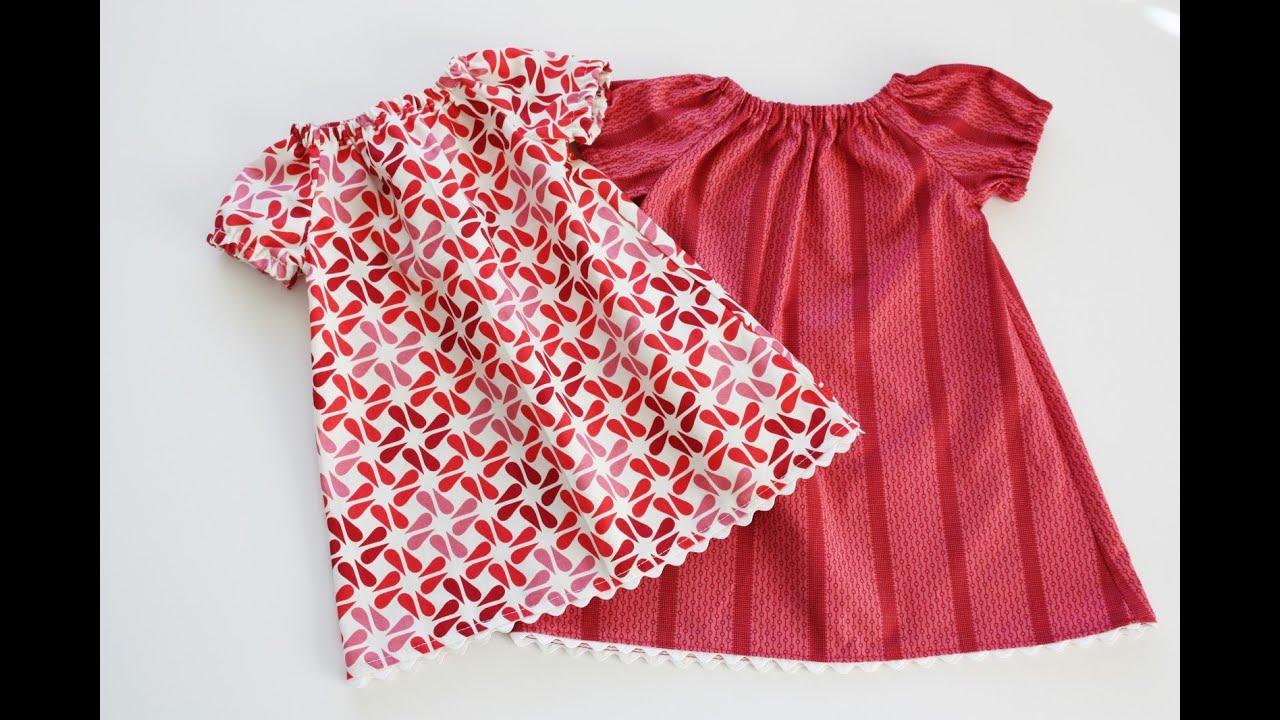 Сшить детское платье на резинке 435
