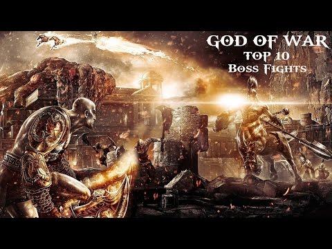 (18+)God of War - ТОП 10 битв с боссами
