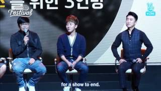 [ENG] The Genius, The Behind - Season 5 Plans (tvN10 Festival)