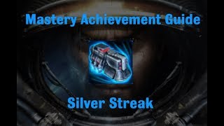 Silver Streak Mastery Achievement - Starcraft 2 Wings of Liberty
