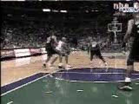 Tags basketball nba darvin ham dunk jam over on mourning alonzo milwaukee ...