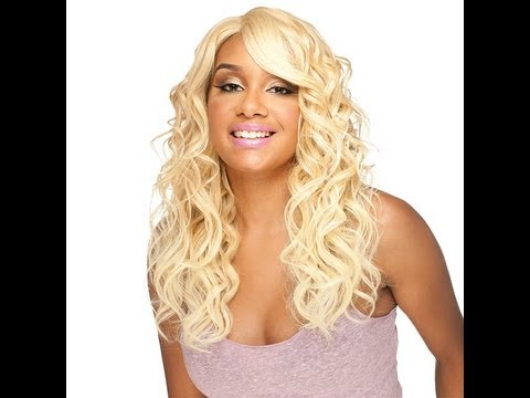 NEW*Model Model Deep Invisible Part Lace Wig - Risque & Americano