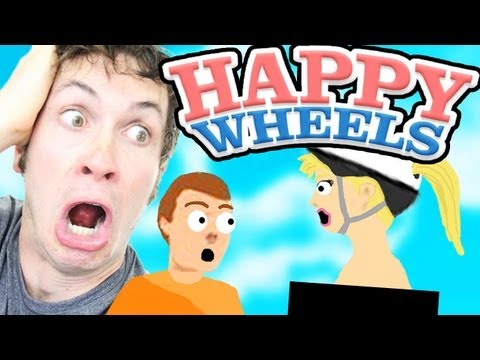 Happy Wheels - NAKED LADY GLITCH