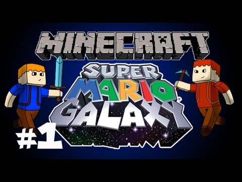 Minecraft - Super Mario Galaxy Ep. 1: Zombie Ride