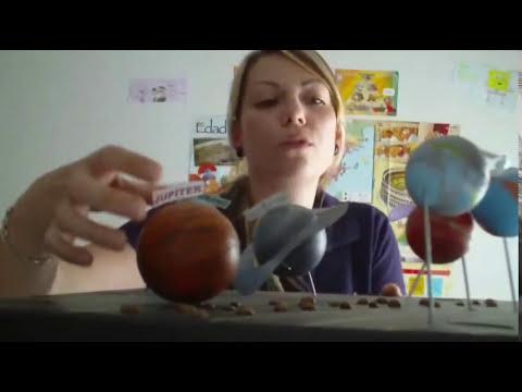 Cómo hacer un sistema solar. DIY How make a solar system