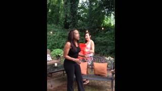 Pam Oliver's ALS ice bucket challenge