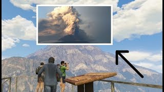 Is Mount Chiliad an ACTIVE Volcano!? (GTA 5 Secrets and Easter Eggs)