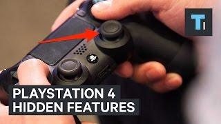 PlayStation 4 hidden features