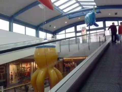 KONE Travellators@Westland Shopping Center Mall, Brussels, Belgium