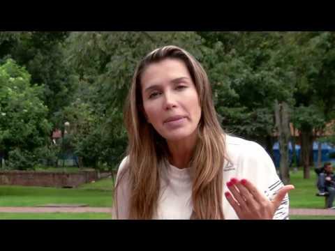 Isabel Cristina Estrada, nos enseña la manera correcta para correr.