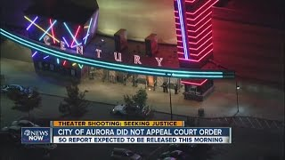 City of Aurora releasing report on Aurora movie theater shooting