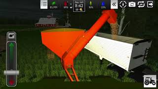 Farming USA 2 Harvesting Corn Timelapse