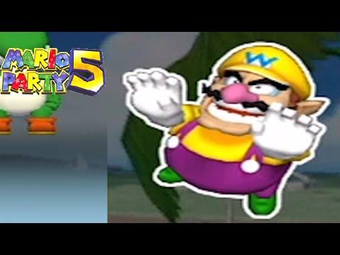 Mario Party 5 - Beach Volleyball & Ice Hockey