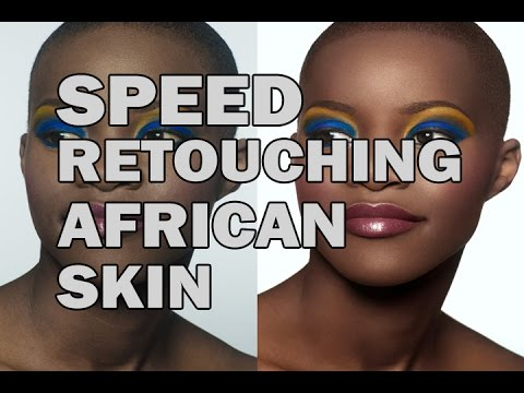 AFRICAN SKIN high end retouching
