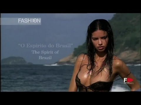 PIRELLI CALENDAR 2005 The Making of with ADRIANA LIMA by Fashion Channel