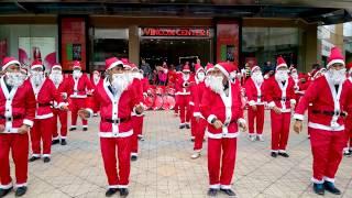 Vincom Bà Triệu - 50 Ông Già Noel :3 7-12-2014