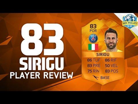 FIFA 16   SALVATORE SIRIGU MOTM (83)   PlayerReview+Statistiche in game (ITA)