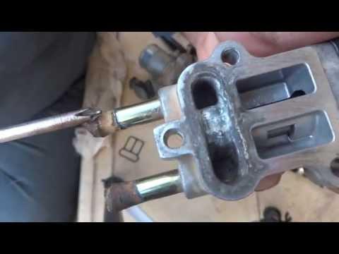Throttle body repair. Idle air control cleaning & repair.